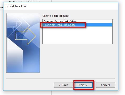 Kết quả hình ảnh cho phương pháp hợp nhất các file PST